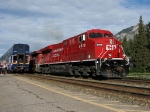 CP 8818 at Banff Alta.